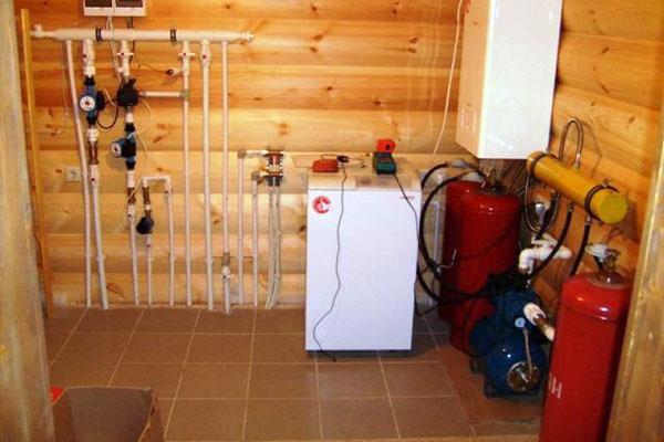 Отопление загородного дома сжиженным газом