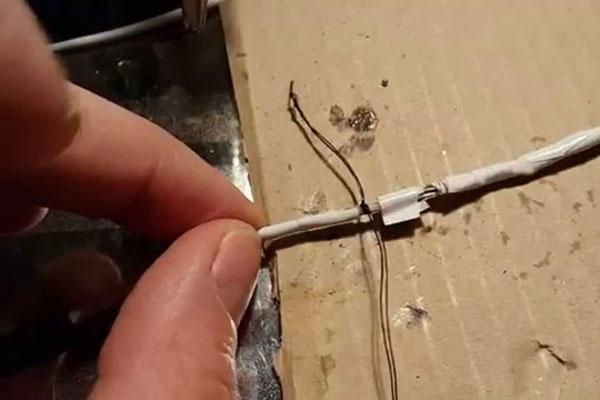 Как починить провод?